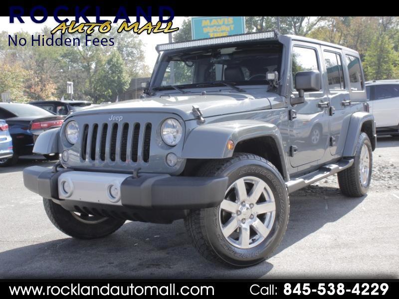 2015 Jeep Wrangler 4WD 4dr Unlimited Sahara