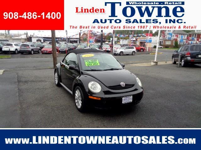 2008 Volkswagen New Beetle SE Convertible