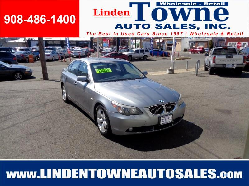 2007 BMW 5-Series 530i 6-Speed Manual