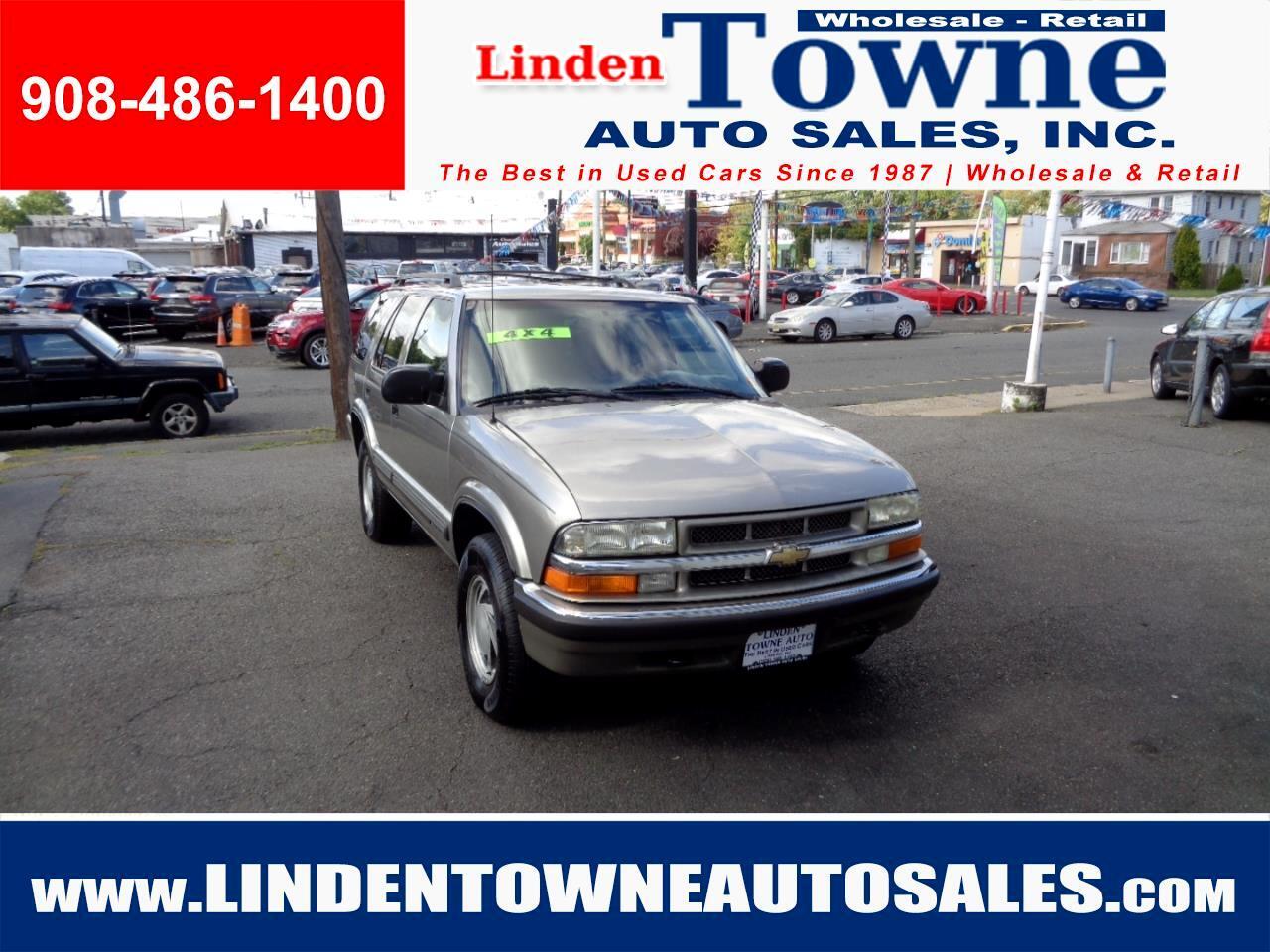 2000 Chevrolet Blazer LT 4-Door 4WD