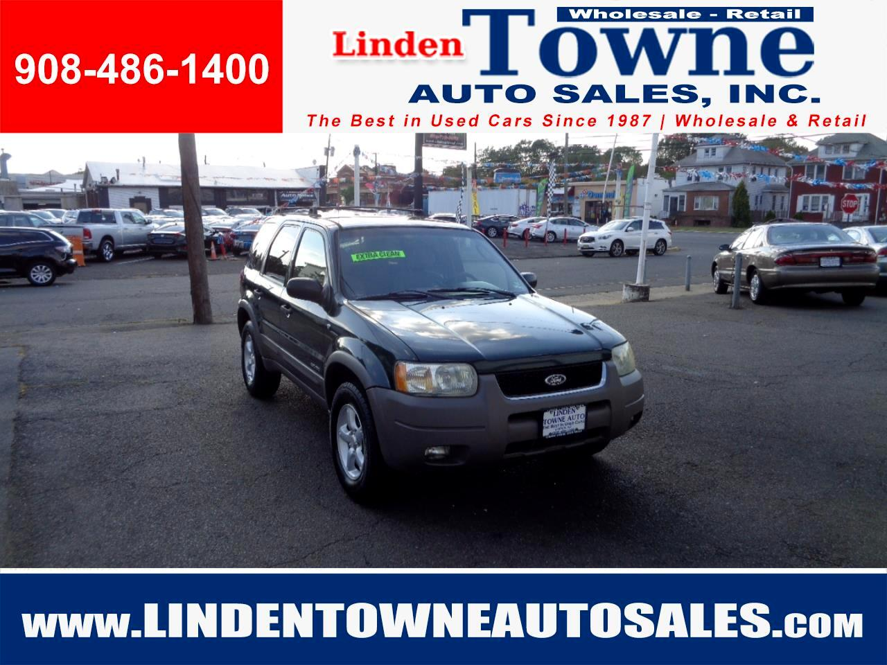 2002 Ford Escape XLT V6 4WD
