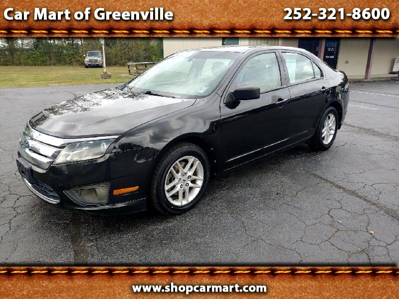 Ford Fusion I4 S 2011