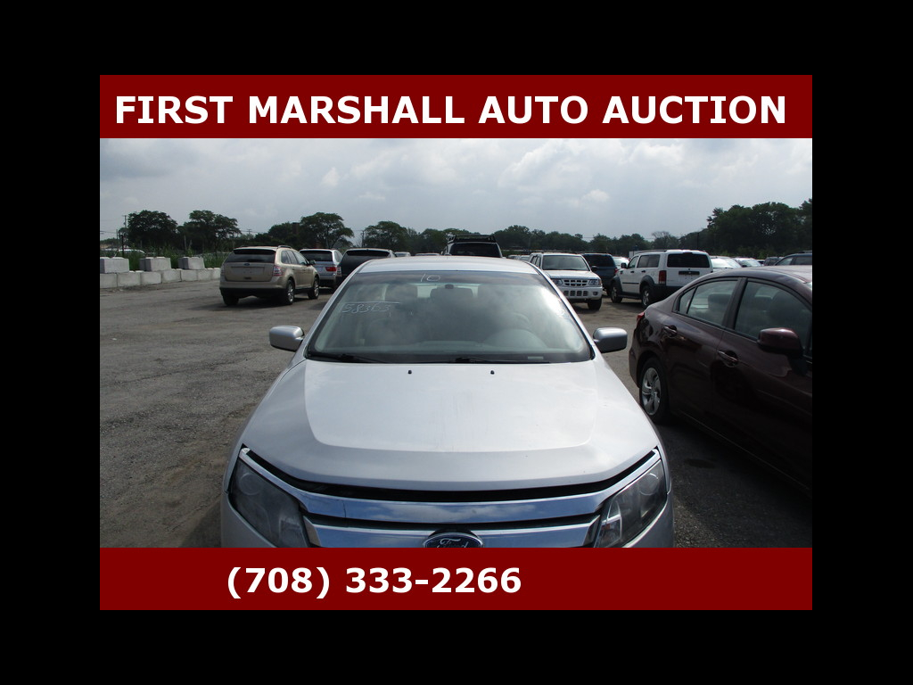 2010 Ford Fusion 4dr Sdn SE FWD