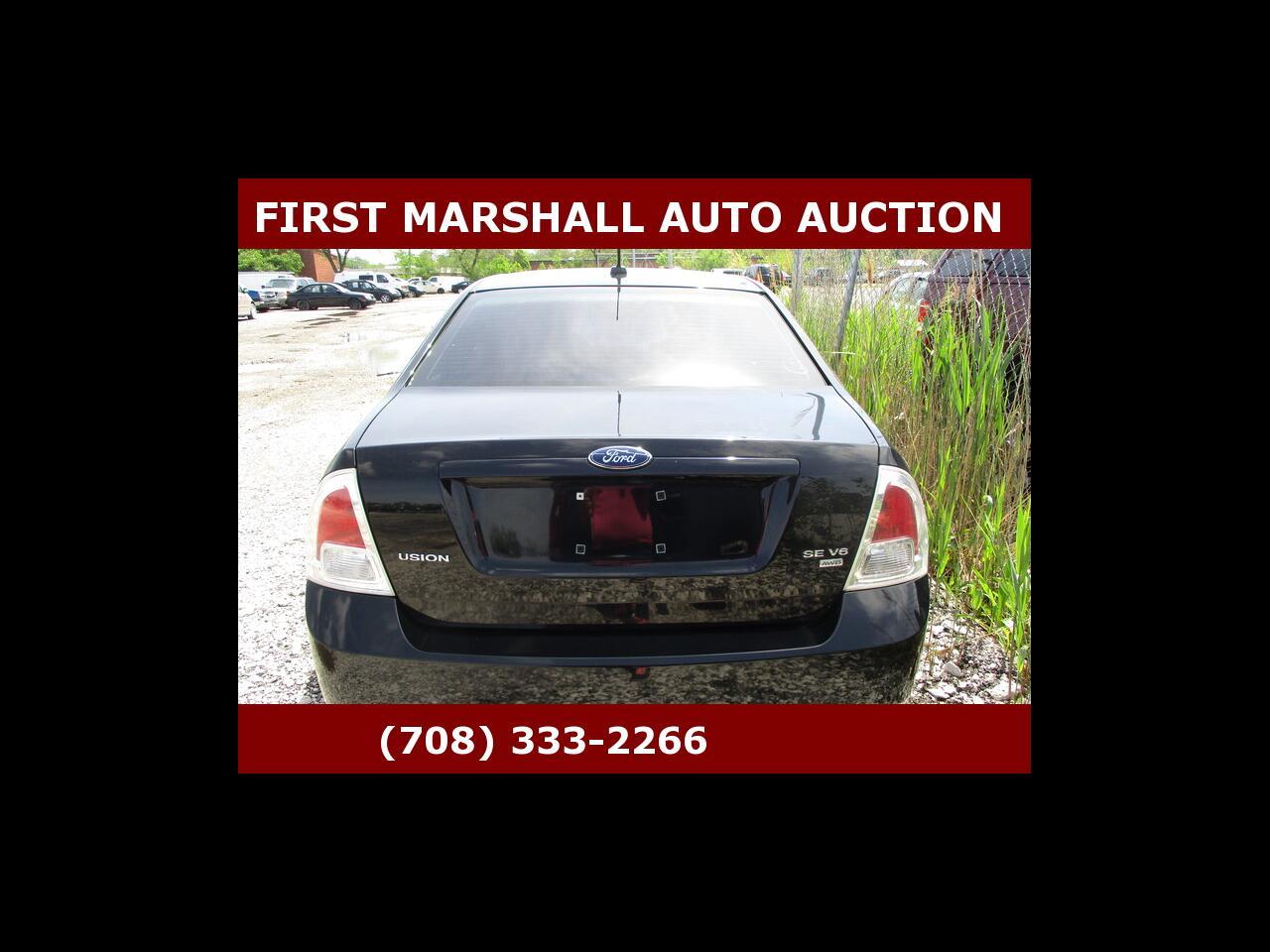2008 Ford Fusion 4dr Sdn V6 SE AWD