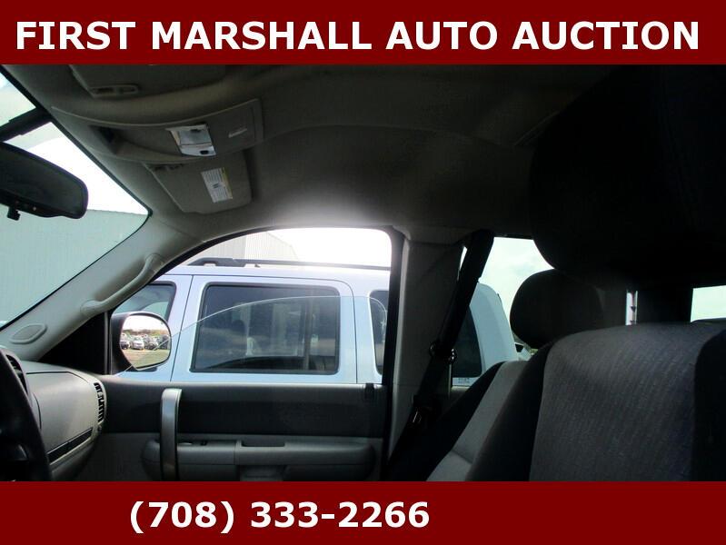2008 Chevrolet Silverado 1500 2WD Ext Cab 143.5