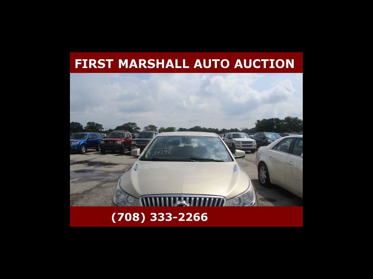 2012 Buick LaCrosse 4dr Sdn Base FWD