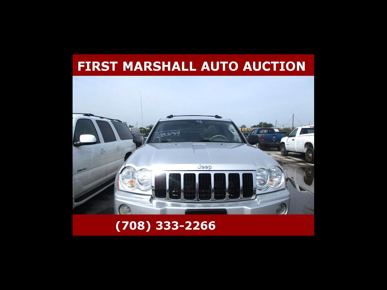 2006 Jeep Grand Cherokee 4dr Limited 4WD