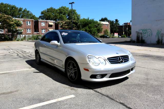 2005 Mercedes-Benz CLK-Class CLK55 AMG Coupe