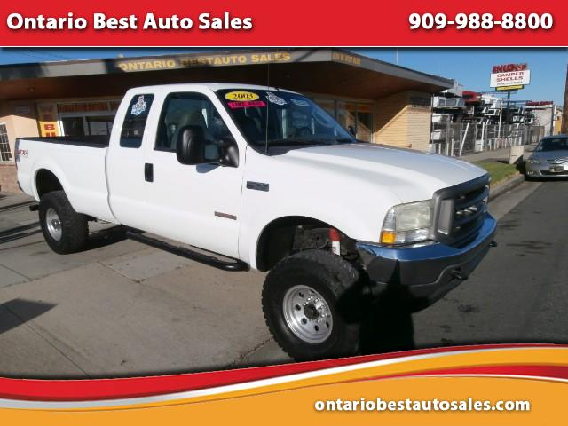 2003 Ford F-250 SD XL SuperCab Long Bed 4WD