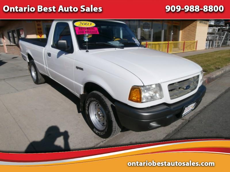 2003 Ford Ranger XL Long Bed 2WD