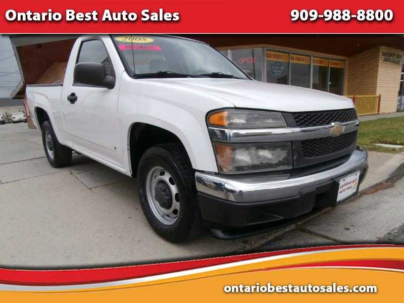 2008 Chevrolet Colorado Work Truck 2WD