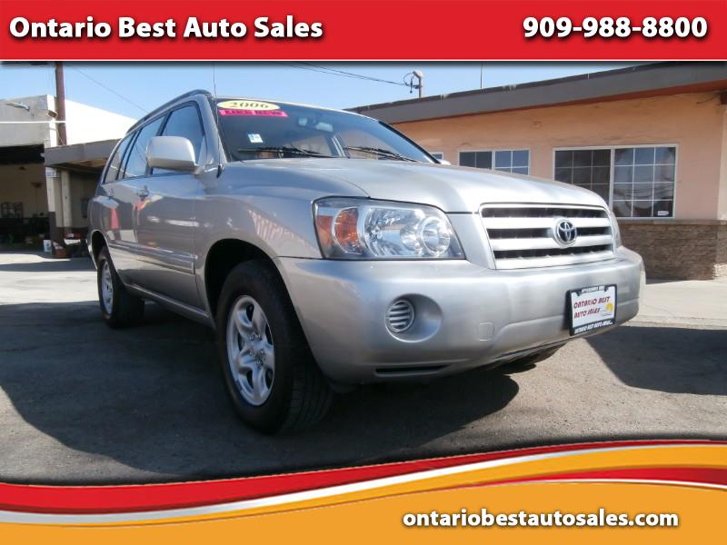 Best Auto Sales >> Used 2006 Toyota Highlander 2wd For Sale In Ontario Ca 91762