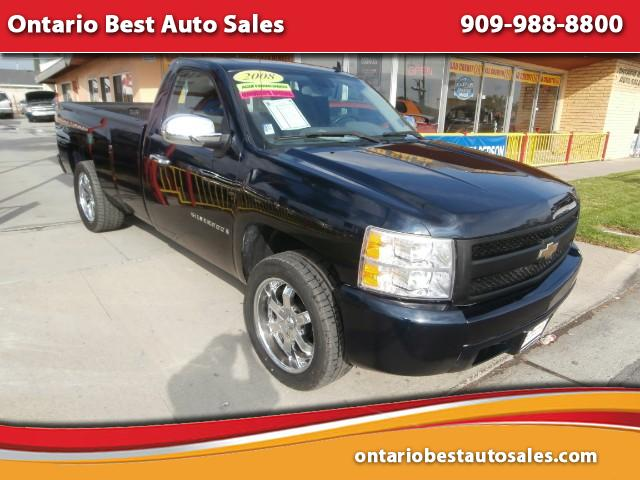 2008 Chevrolet Silverado 1500 Work Truck 1WT Regular Cab Long Box 2WD