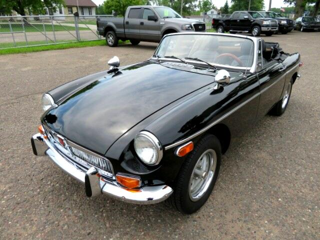 1977 MGB Convertible CHROME PACKAGE
