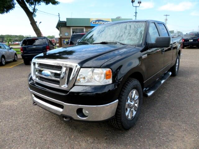 "2008 Ford F-150 SuperCrew Crew Cab 139"" XLT 4WD"