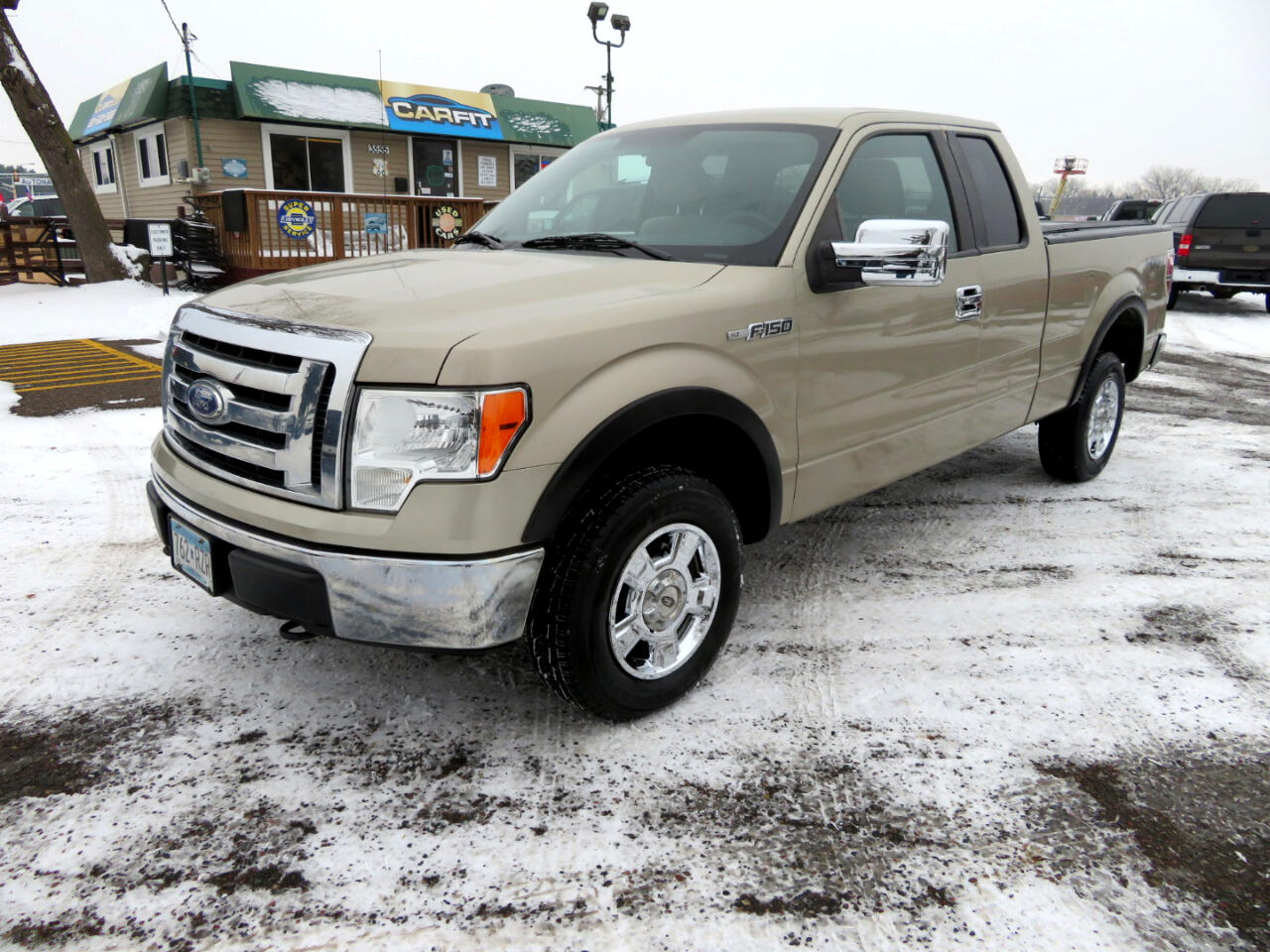 2009 Ford F-150 4WD SuperCab 145