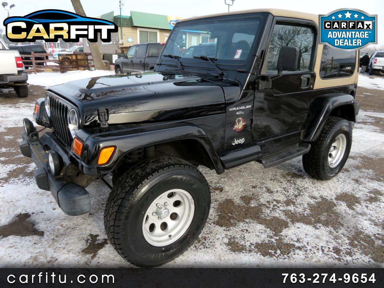 2000 Jeep Wrangler 2dr Sahara
