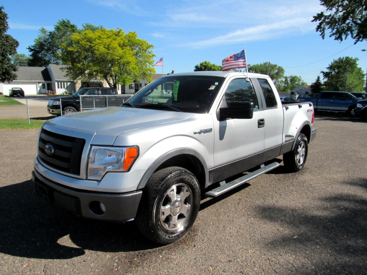 "2009 Ford F-150 4WD SuperCab Flareside 145"" FX4"