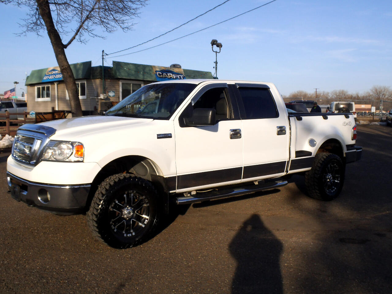 """2008 Ford F-150 4WD SuperCrew Flareside 150"""" FX4"""