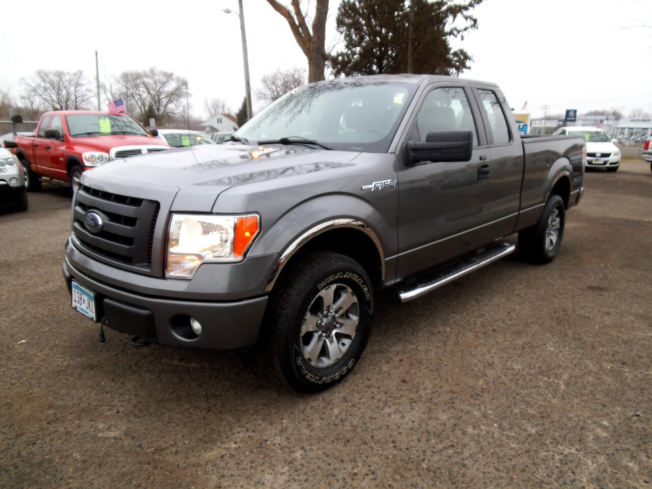 "2012 Ford F-150 4WD SuperCab 145"" STX"