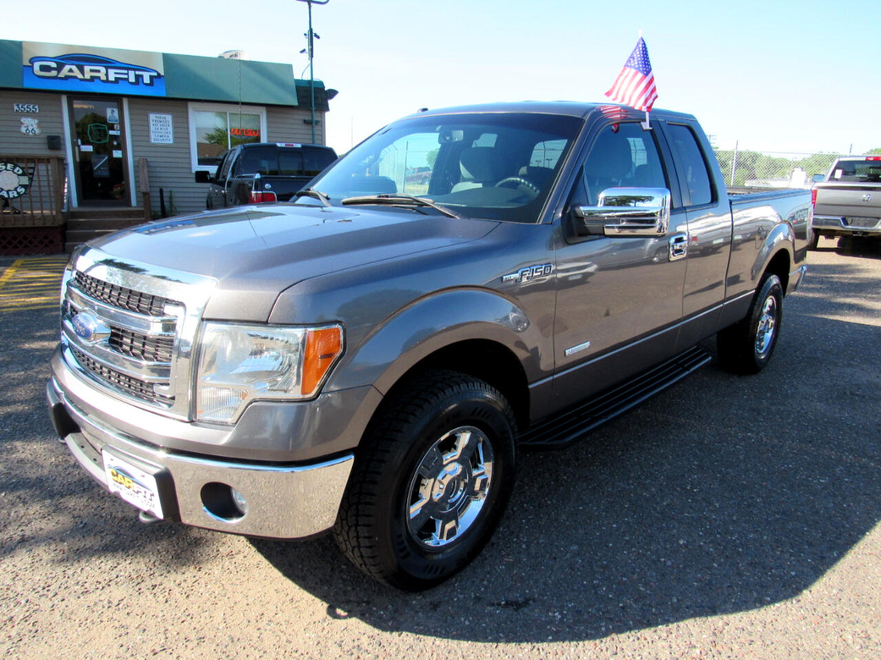 "2014 Ford F-150 4WD SuperCab 163"" XLT"