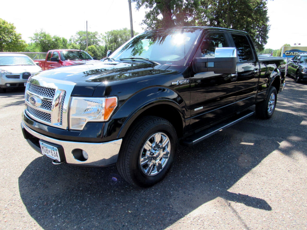 "2011 Ford F-150 4WD SuperCrew 157"" Lariat"