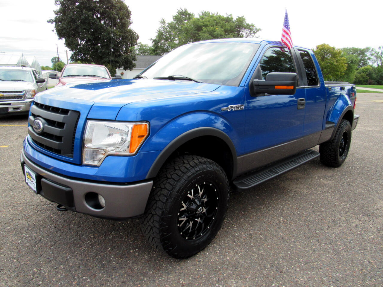 2009 Ford F-150 4WD SuperCab Flareside 145