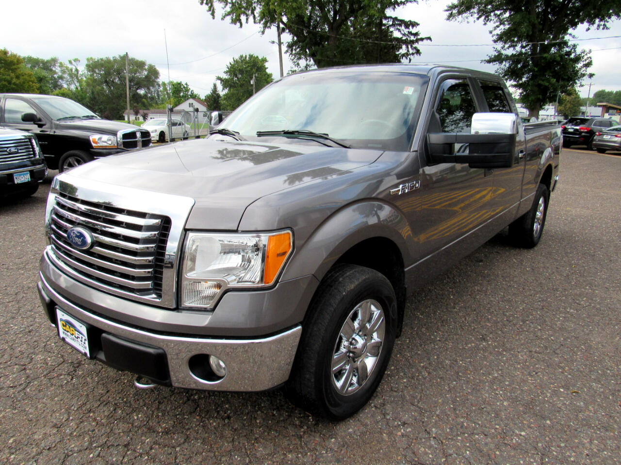 "2010 Ford F-150 4WD SuperCrew 157"" XLT"