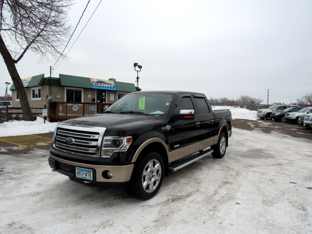 "Ford F-150 4WD SuperCrew 145"" King Ranch 2013"