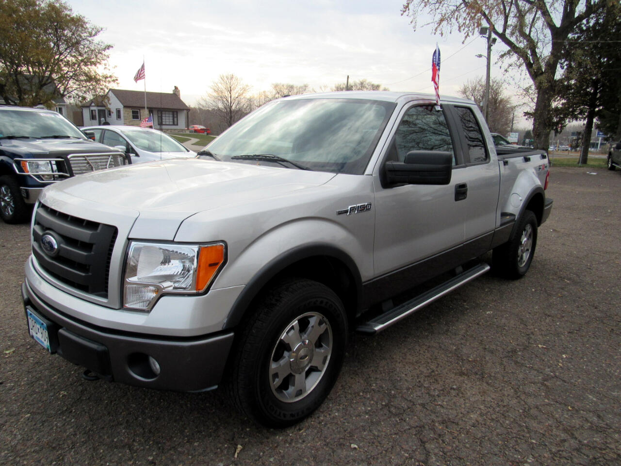 "Ford F-150 4WD Supercab Flareside 145"" FX4 2009"