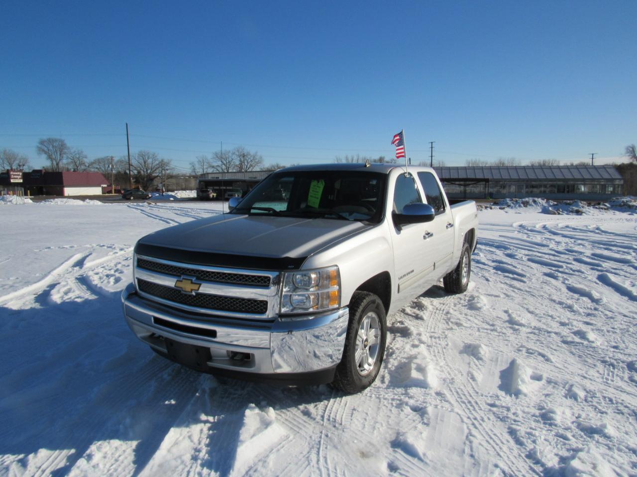 """Chevrolet Silverado 1500 4WD Crew Cab 143.5"""" LS 2012"""