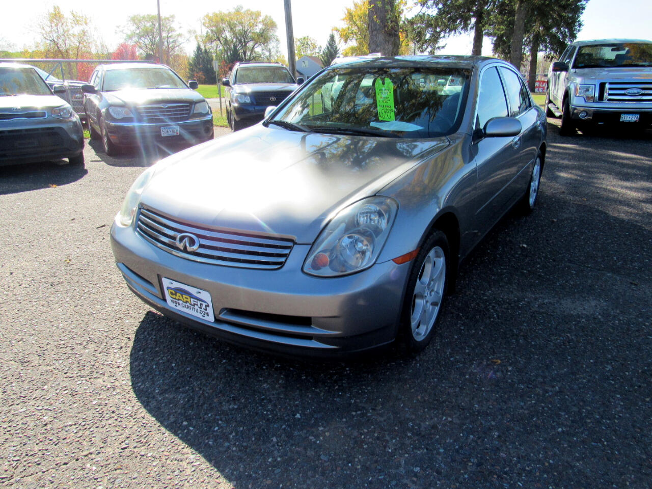 Infiniti G35 Sedan 4dr Sdn AWD Auto w/Leather 2004