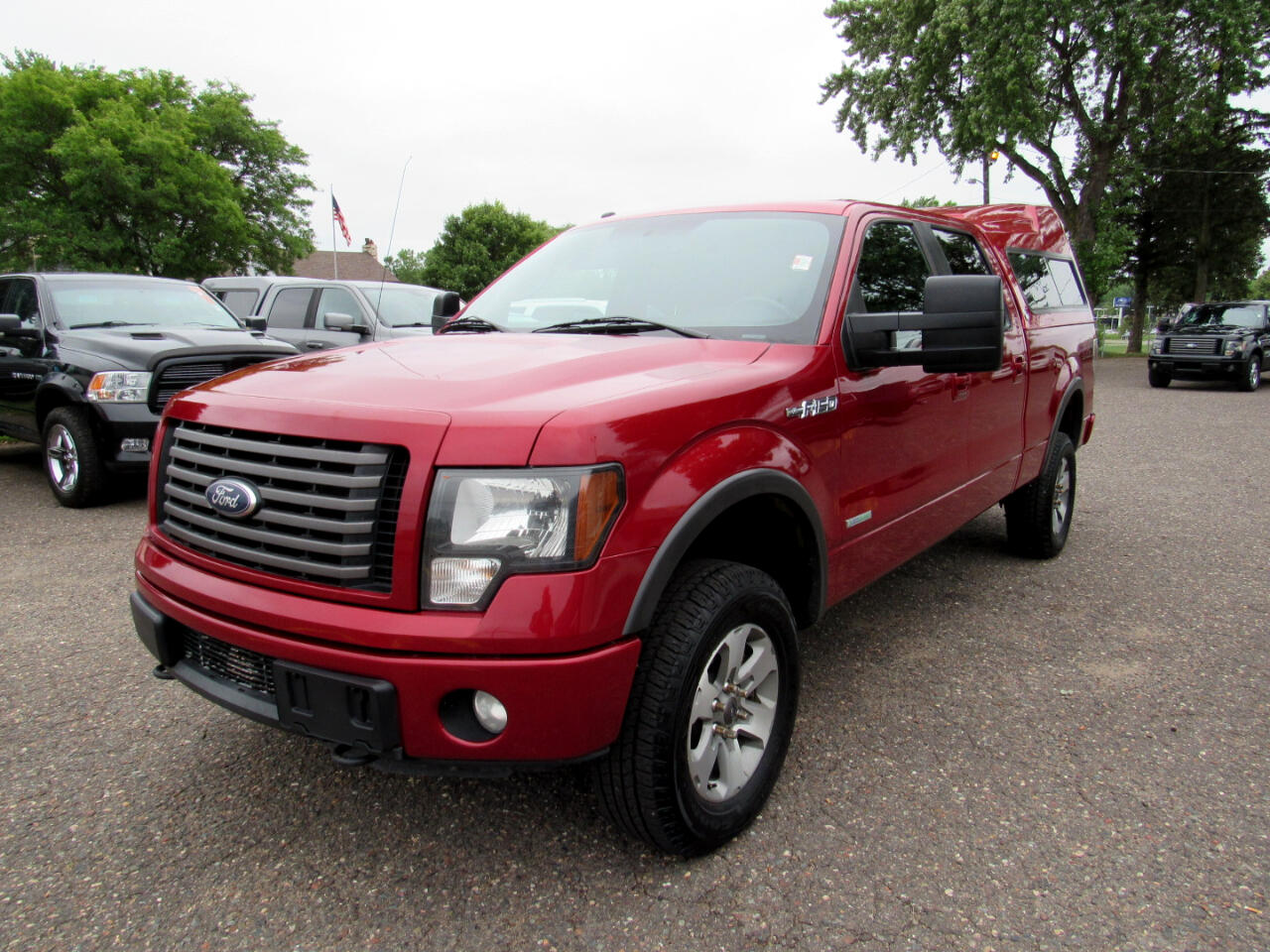 """Ford F-150 4WD SuperCrew 157"""" FX4 2012"""