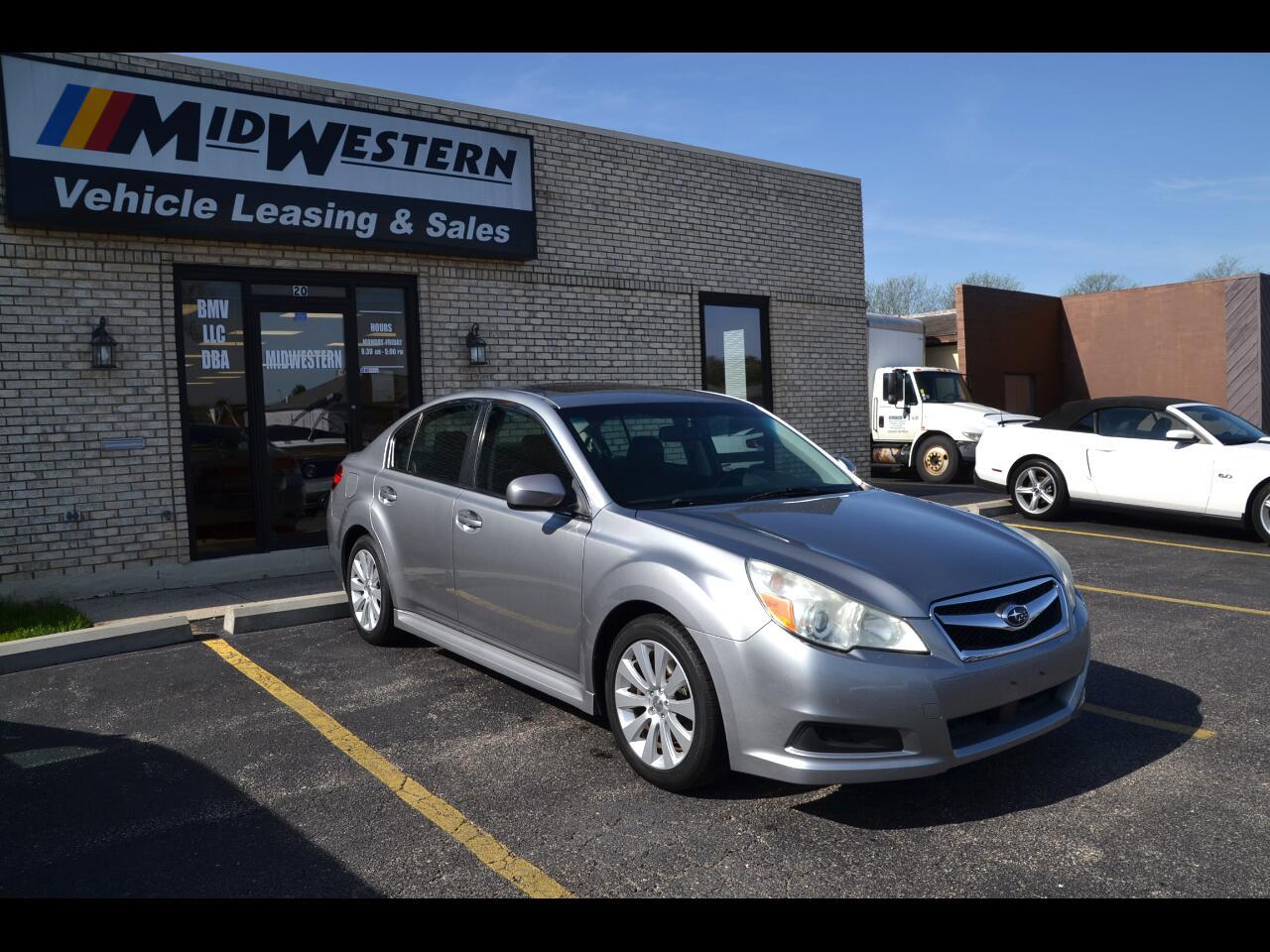 Subaru Legacy 4dr Sdn H6 Auto 3.6R Ltd Pwr Moon/Navigation 2011