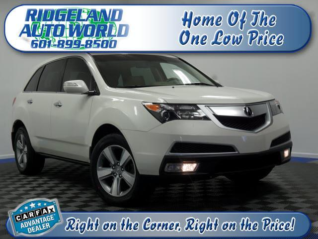 2013 Acura MDX 6-Spd AT w/Tech Package