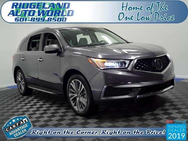 Acura MDX SH-AWD 9-Spd AT w/Tech Package 2018