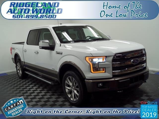 Ford F-150 Lariat SuperCab 5.5-ft Box 4WD 2017