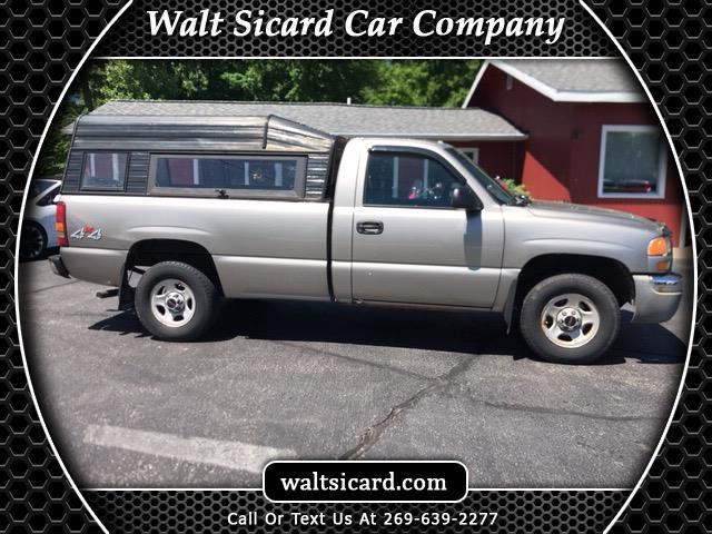 2003 GMC Sierra 1500 Work Truck Long Bed 4WD