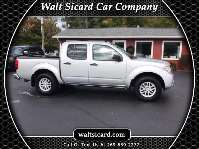 2018 Nissan Frontier SL Crew Cab 5AT 4WD