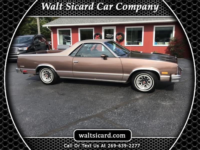 Chevrolet El Camino Regular Cab 2WD 1984