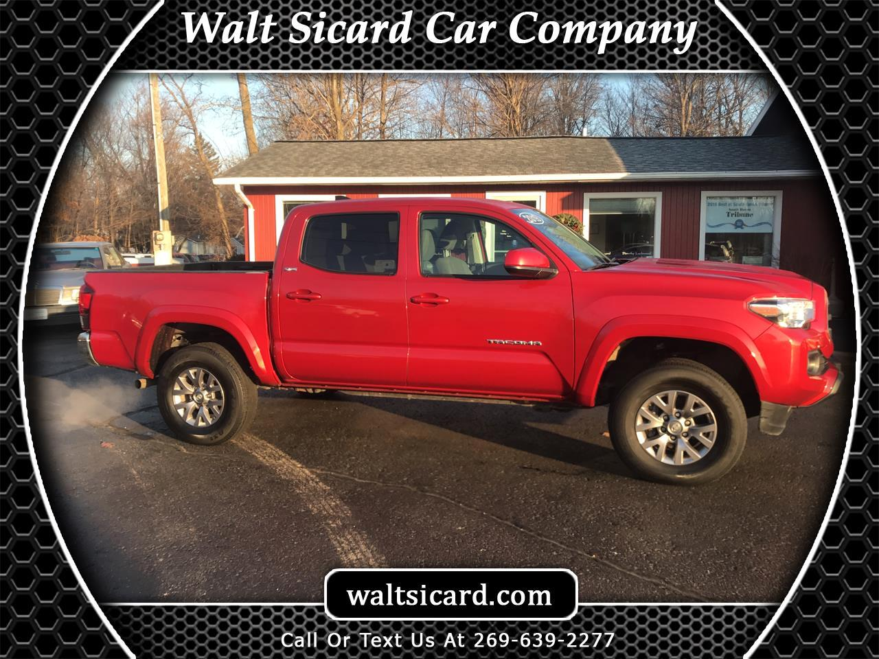 Toyota Tacoma TRD Off Road Double Cab 5' Bed V6 MT (Natl) 2019
