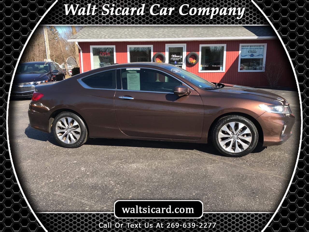 Honda Accord Coupe 2dr I4 CVT EX-L 2014