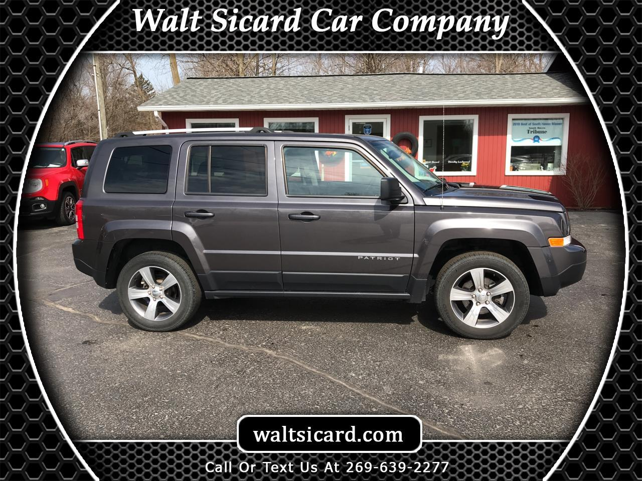 Jeep Patriot High Altitude 4x4 2017