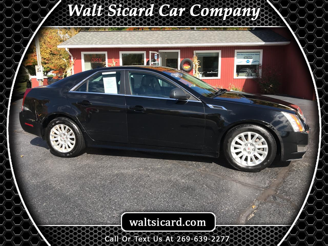 Cadillac CTS 4dr Sdn 3.0L AWD 2011