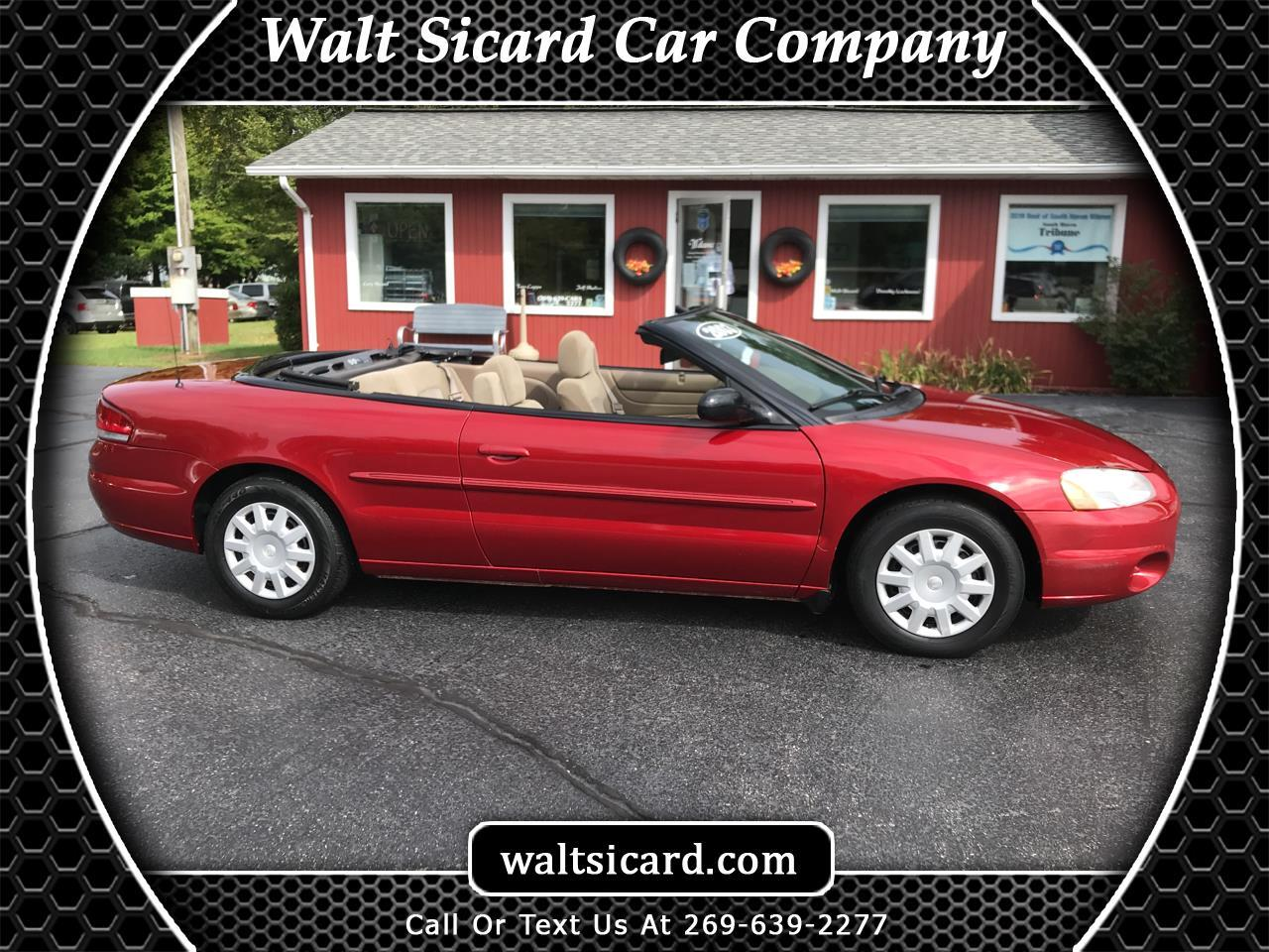 Chrysler Sebring 2dr Convertible LX 2003