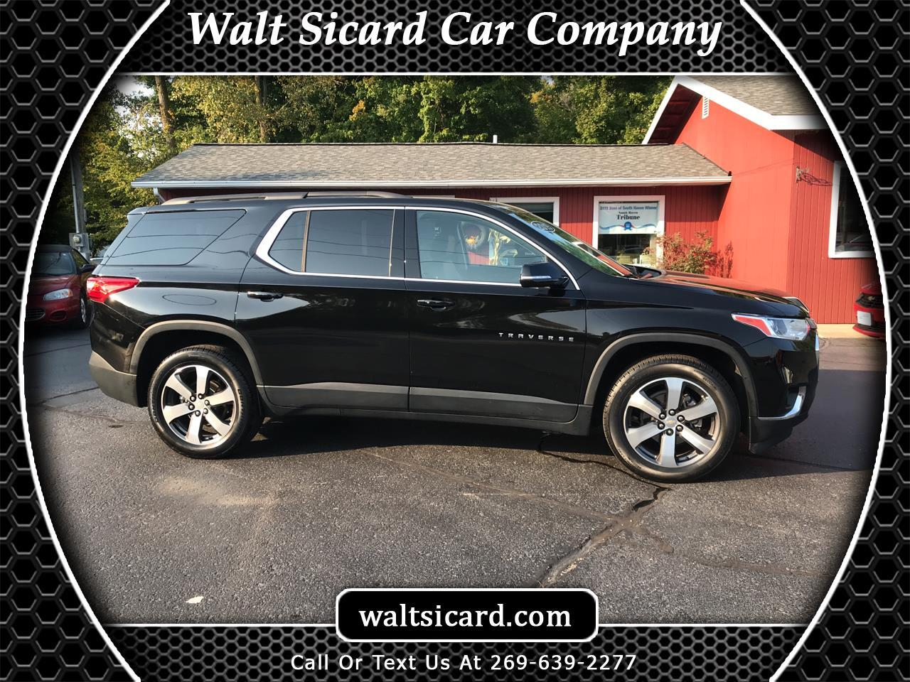 Chevrolet Traverse AWD 4dr LT Leather w/3LT 2019