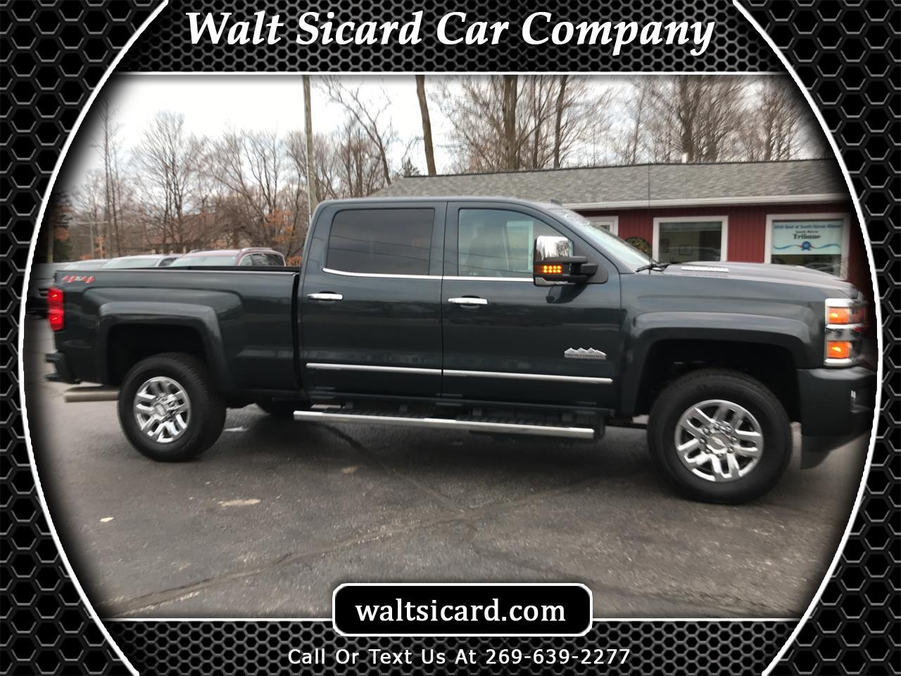 "Chevrolet Silverado 3500HD 4WD Crew Cab 153.7"" High Country 2018"