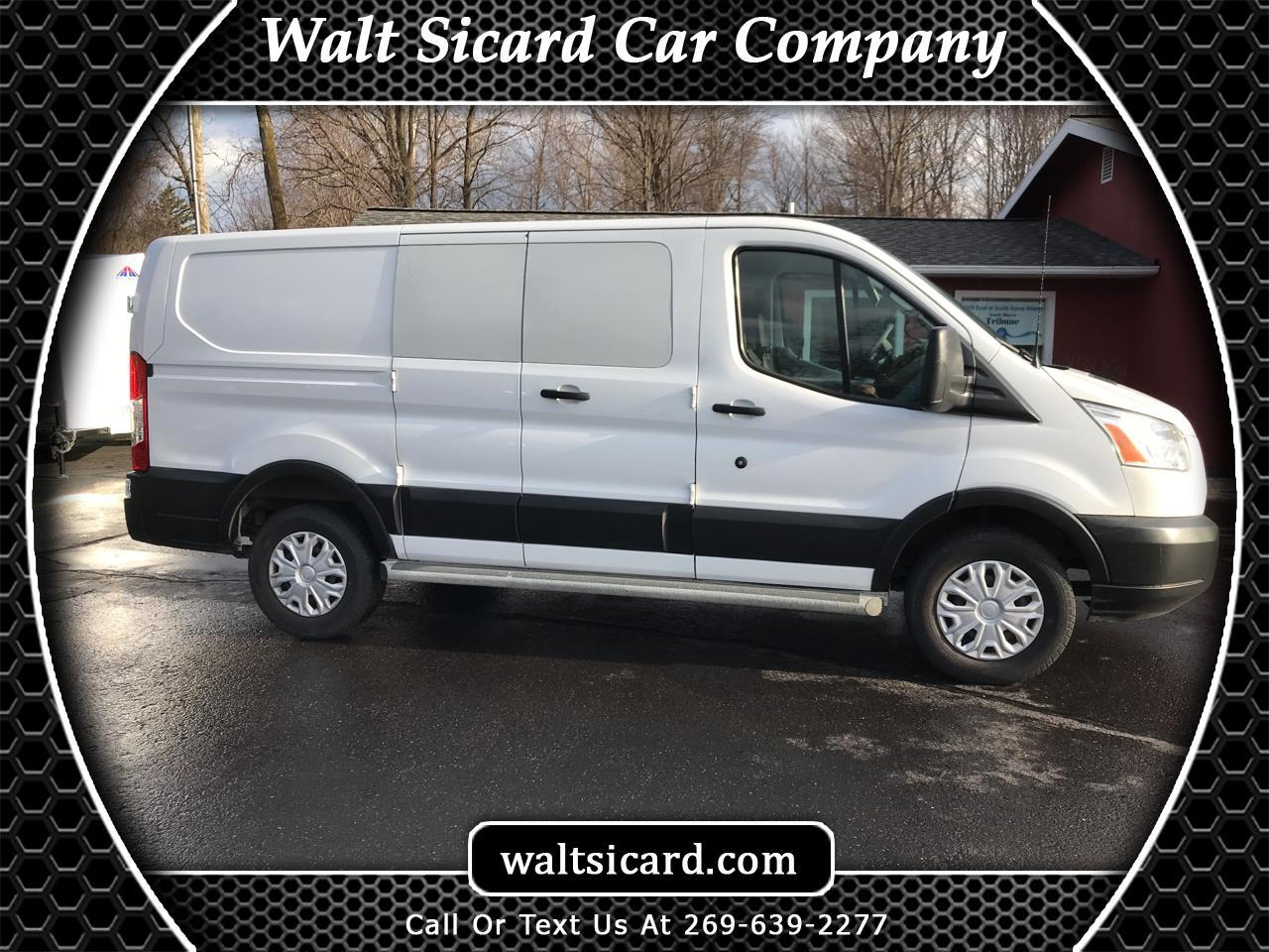 "Ford Transit Van T-250 130"" Low Rf 9000 GVWR Swing-Out RH Dr 2019"