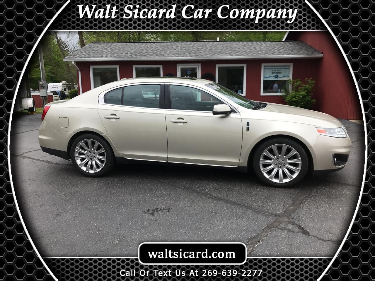 Lincoln MKS 4dr Sdn 3.7L AWD 2010