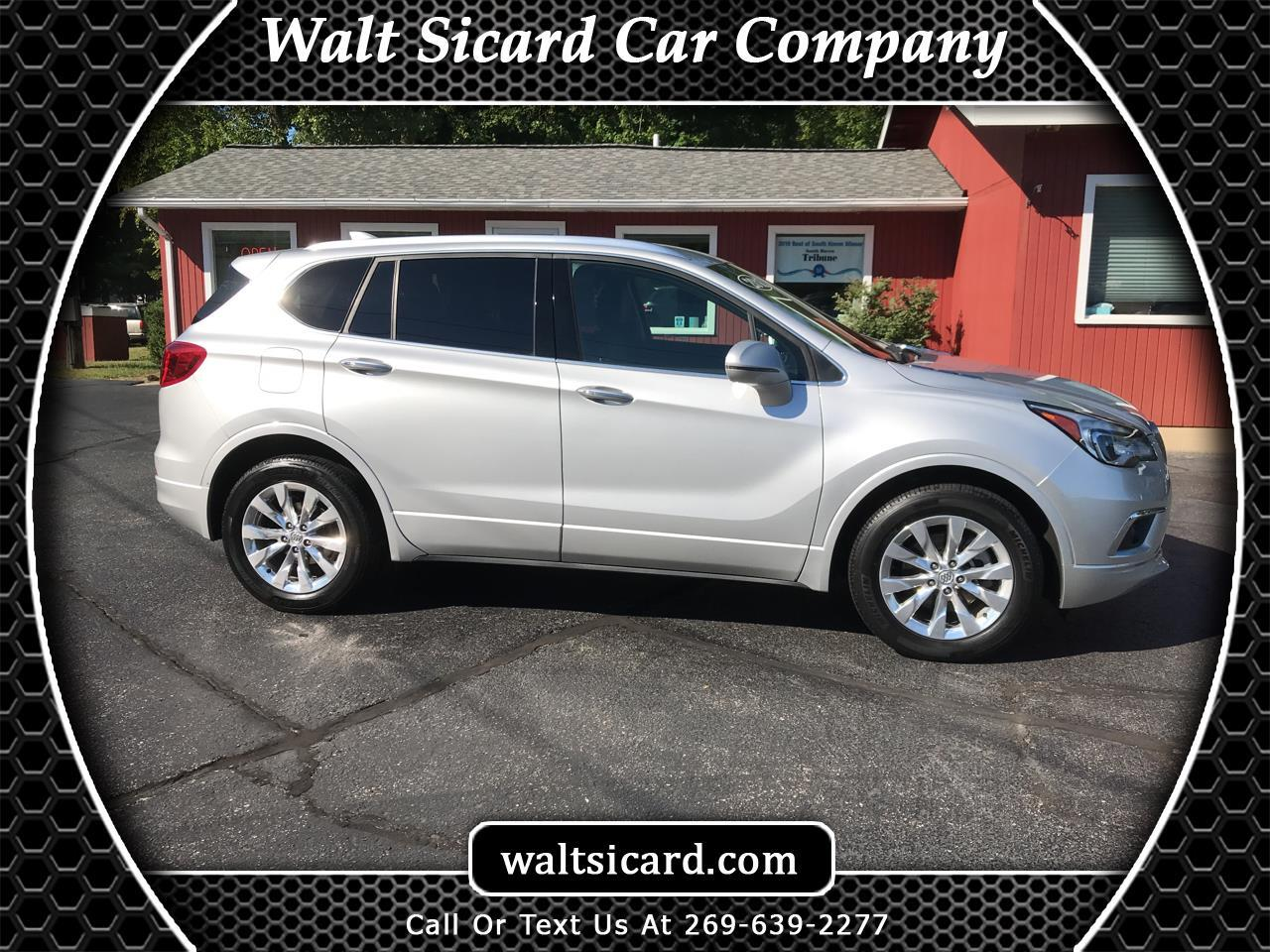 Buick Envision AWD 4dr Essence 2018